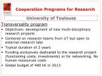 cooperation programs for research3