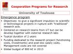 cooperation programs for research4