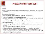 projets capes cofecub