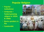 popular religion