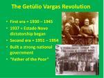 the get lio vargas revolution