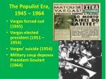 the populist era 1945 1964