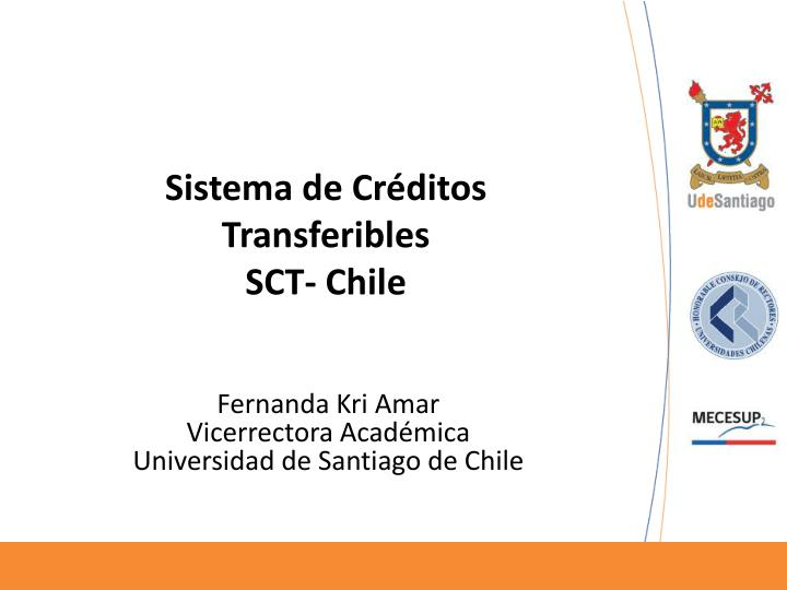 sistema de cr ditos transferibles sct chile n.