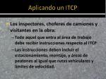 aplicando un itcp1
