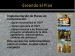 creando el plan3