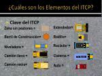 cu les son los elementos del itcp1