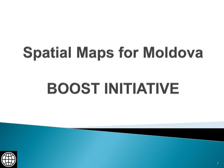 spatial maps for moldova boost initiative n.