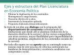 ejes y estructura del plan licenciatura en econom a pol tica1