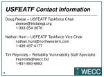 usfeatf contact information