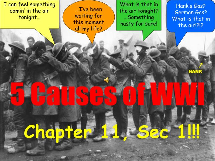 5 causes of wwi n.