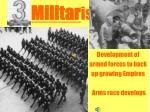 militar ism