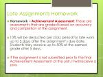 late assignments homework1