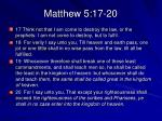 matthew 5 17 20