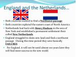 england and the netherlands