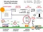 life cycle of particulate matter pm aerosols