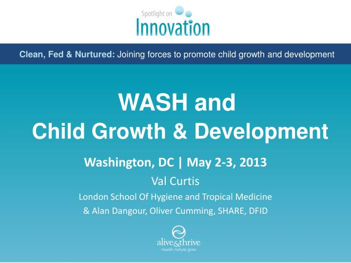 wash and child growth development n.