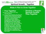 make a plan to grow together