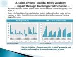 2 crisis effects capital flows volatility impact through banking credit channel1