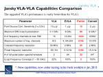 jansky vla vla capabilities comparison