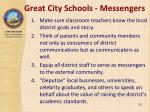 great city schools messengers
