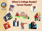 what is college ready career ready