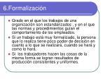 6 formalizaci n