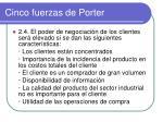 cinco fuerzas de porter4