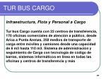 tur bus cargo