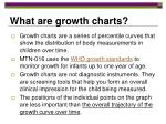 what are growth charts