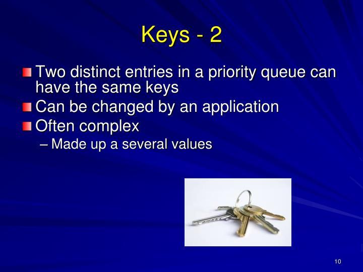 Keys - 2