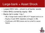 large bank asset shock1