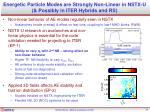 energetic particle modes are strongly non linear in nstx u possibly in iter hybrids and rs1