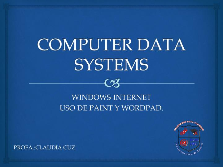 computer data systems n.