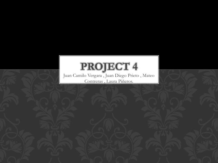 project 4 n.