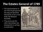 the estates general of 1789
