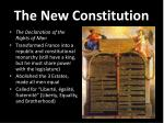 the new constitution