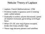 nebular theory of laplace