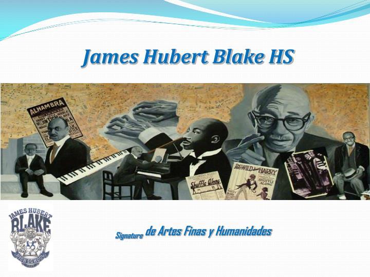 James Hubert Blake HS
