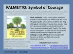 palmetto symbol of courage