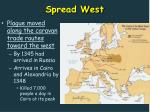 spread west