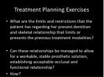 treatment planning exercises2