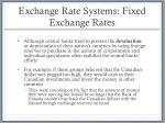 exchange rate systems fixed exchange rates3