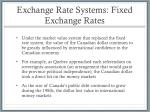 exchange rate systems fixed exchange rates5