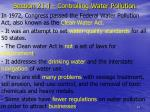section 21 4 controlling water pollution