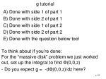 g tutorial