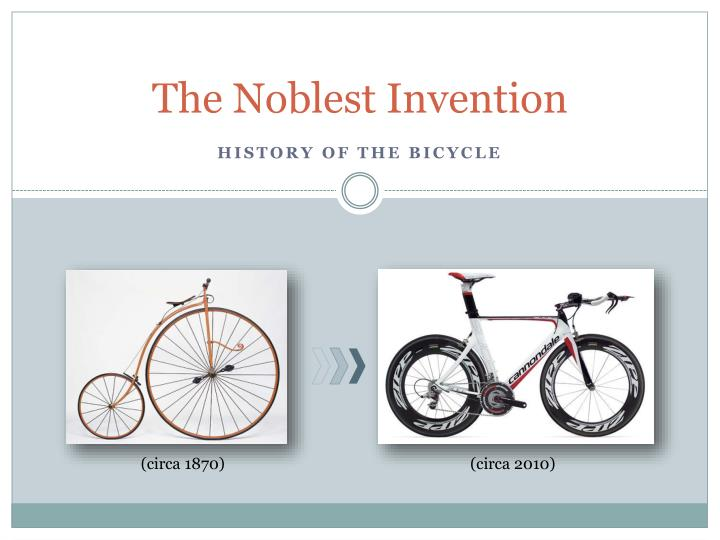 the noblest invention n.