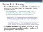 redox stoichiometry2