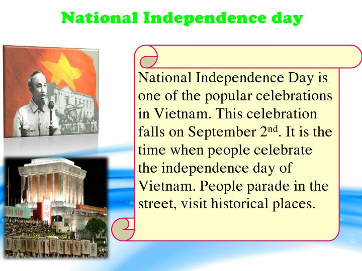 National Independence day