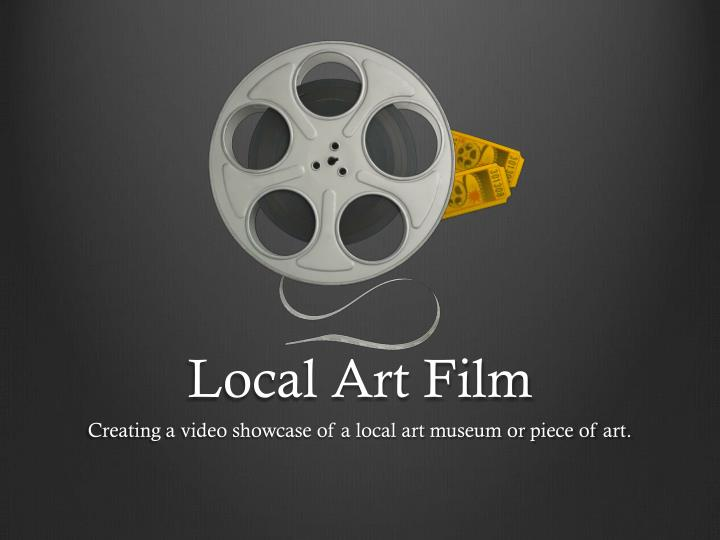 local art film n.