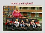 poverty in england